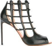 Francesco Russo , Cell Bars Motif Sandals