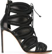 Francesco Russo , High Heel Cage Sandals
