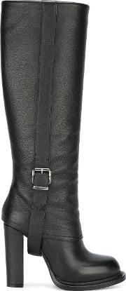 Gianni Renzi , Buckled Detailing Boots Women Leather 40