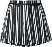 Guild Prime , Striped Shorts Women Polyester 34