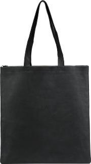 Isaac Reina , Basket Shoulder Tote Men Calf Leather One Size