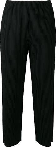 Issey Miyake Cauliflower , Cropped Trousers Women Polyester One Size
