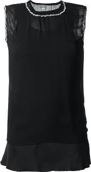 Jupe By Jackie , Sheer Tank Top