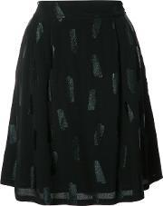 Just Female , Tonal Print A Line Skirt Women Viscose Xs