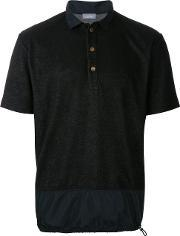 Kolor , Drawstring Hem Polo Shirt Men Cottonpolyester 4