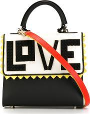 Les Petits Joueurs , Lego Love Panelled Tote Women Calf Leather One Size, Women's, Black