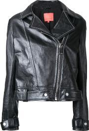 Manning Cartell , Mod Squad Leather Jacket Women Sheep Skinshearling 6, Women's, Black