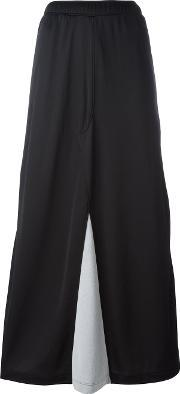 Marios , Buttoned Lateral Straight Skirt Women Nylonpolyester L