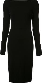 Narciso Rodriguez , Off Shoulders Fitted Dress