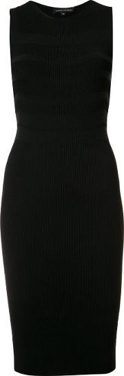 Narciso Rodriguez , Ribbed Knit Fitted Dress