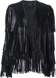 Nour Hammour , 'lottery' Fringed Jacket