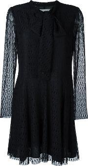 Philosophy Di Lorenzo Serafini , Lace Mini Dress Women Polyamidepolyesterother Fibres 46, Women's, Black