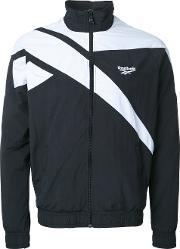 Reebok , Contrast Bomber Jacket Men Nylon S, Black