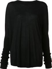 Sally Lapointe , Long Sleeved Top Women Cashmere Xss, Women's, Black
