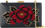 Serpui , Embroidered Clutch Bag Women Leather One Size