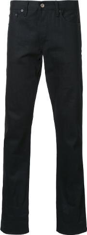 Simon Miller , Straight Leg Jeans Men Cotton 31, Black