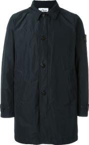 Stone Island , Button Down Trench Coat