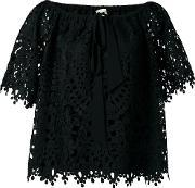 Temperley London , Berry Lace Top Women Polyester 12