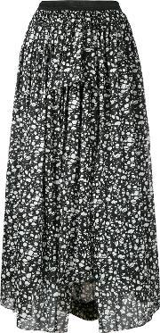 Theatre Products , Abstract Print Midi Skirt