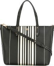 Tory Burch , Striped Tote Women Vinyl One Size