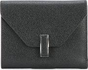 Valextra , Square Envelope Wallet Women Calf Leather One Size