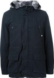 Yves Salomon Homme , Patch Pocket Hooded Jacket