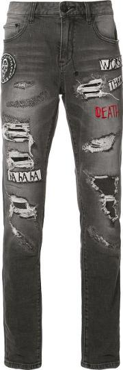 Haculla , Patches Ripped Jeans