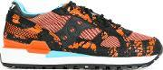 Saucony , Patterned Panelled Sneakers Women Leathernylonrubber 41