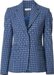 Altuzarra , Button Up Checked Blazer Women Cottonpolyesterspandexelastaneacetate 36