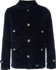 Bleu De Paname , Buttoned Jacket Men Cotton S