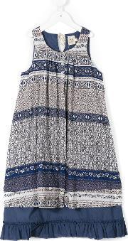 Caffe Dorzo , Caffe' D'orzo Printed Folk Dress