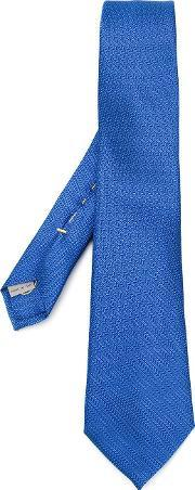 Canali , Woven Silk Tie Men Silk One Size