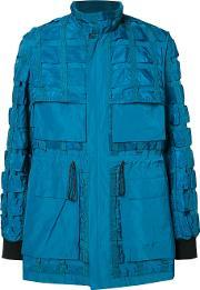 Christopher Raeburn , Airbrake Jacket Men Nylonpolyester M, Blue