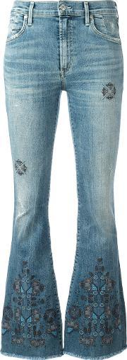 Citizens Of Humanity , Ethnic Miramar Jeans Women Cottonpolyesterpolyurethane 27, Women's, Blue