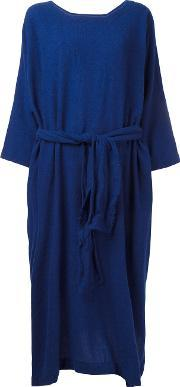 Daniela Gregis , Belted Dress Women Cashmere One Size
