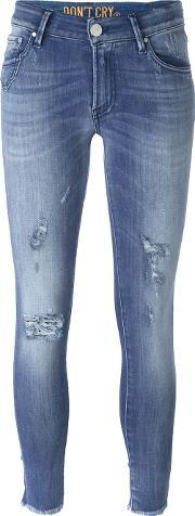 Dont Cry , Don't Cry 'felicia' Distressed Skinny Jeans