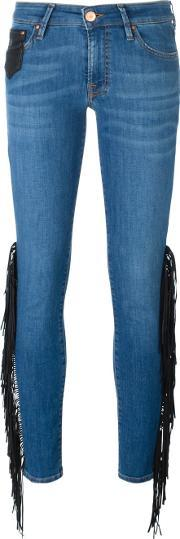 Dont Cry , Don't Cry Fringed Jeans