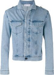 Gosha Rubchinskiy , Washed Denim Jacket Men Cotton M