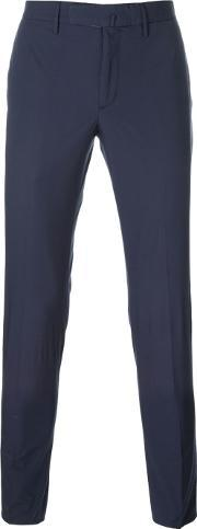 Incotex , Chino Trousers Men Cottonspandexelastane 52, Blue