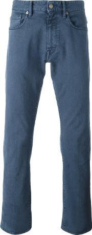 Incotex , Slim Fit Jeans Men Cottonspandexelastane 31, Blue