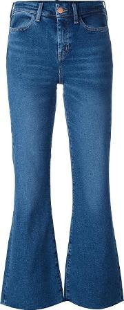 Mih Jeans , 'lou' Flared Cropped Jeans