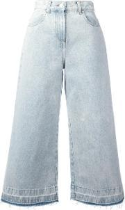 Msgm , Flared Cropped Jeans