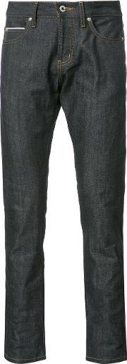 Naked And Famous , Skinny Jeans Men Cotton 32, Blue