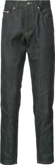 Naked And Famous , Straight Jeans Men Cotton 30