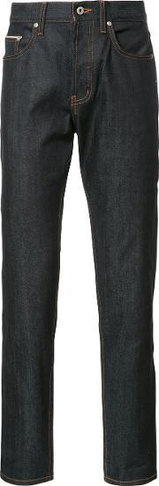Naked And Famous , Tapered Jeans Men Cotton 36, Blue