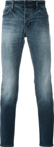 Neuw , Slim Fit Jeans Men Cottonpolyesterspandexelastane 32