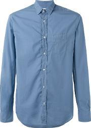 Officine Generale , Shirt With Chest Pocket