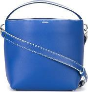 Perrin Paris , Zipped Shoulder Bag Women Calf Leather One Size