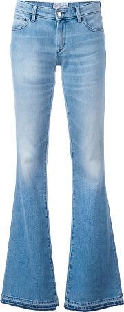 The Seafarer , Syrena Jeans Women Cottonpolyurethane 27, Women's, Blue