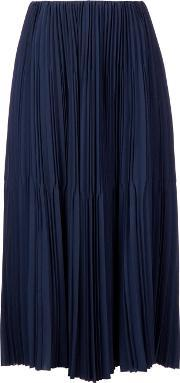 Astraet , Long Pleated Skirt